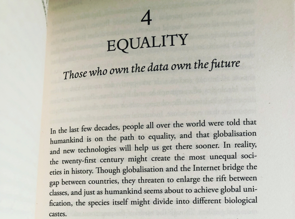 Those who own the data own the future